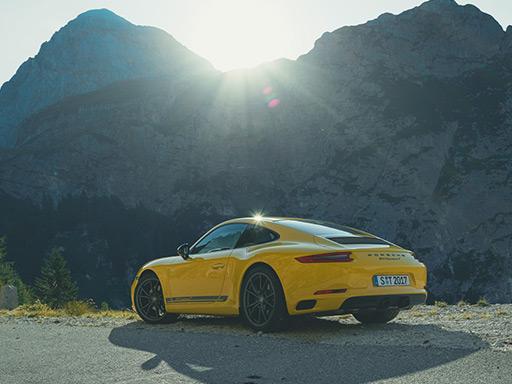 Nowe 911 Carrera T.